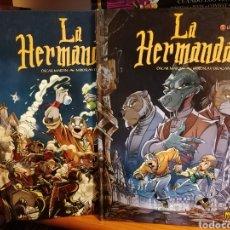 Cómics: LA HERMANDAD-2 UNICOS TOMOS-ÓSCAR MARTÍN-NORMA. Lote 179127710