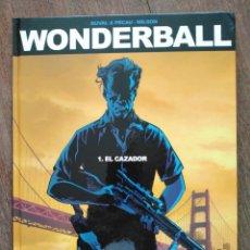 Cómics: TOMO WONDERBALL 1 EL CAZADOR. Lote 179319435