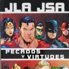 Cómics: JLA JSA PECADOS Y VIRTUDES . Lote 179333586