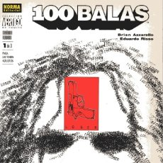 Cómics: 100 BALAS: MAÑANA ROBADO/LOSER (1ªPARTE) - B.AZZARELLO & E.RISSO - NORMA ED. 2002. Lote 179341291