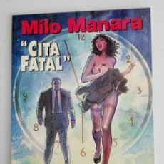 Cómics: MILO MANARA CITA FINAL NUM. 8 TAPA BLANDA. Lote 179518593