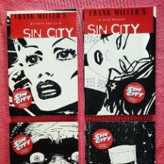Cómics: LOTE 4 COMICS FRANK MILLER SIN CITY. NORMA EDITORIAL AÑO 2005.. Lote 179523538