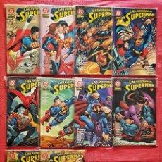 Cómics: COLECCIÓN COMPLETA DC LAS AVENTURAS DE SUPERMAN. NORMA EDITORIAL AÑO 2002.. Lote 179534227