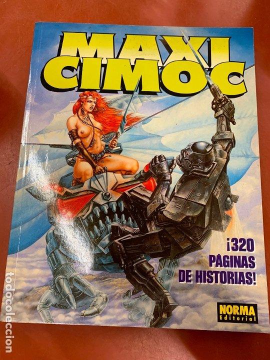 COMIC MAXI CIMOC, NUMERO 2, NORMA EDITORIAL, EN MUY BUEN ESTADO. (Tebeos y Comics - Norma - Cimoc)
