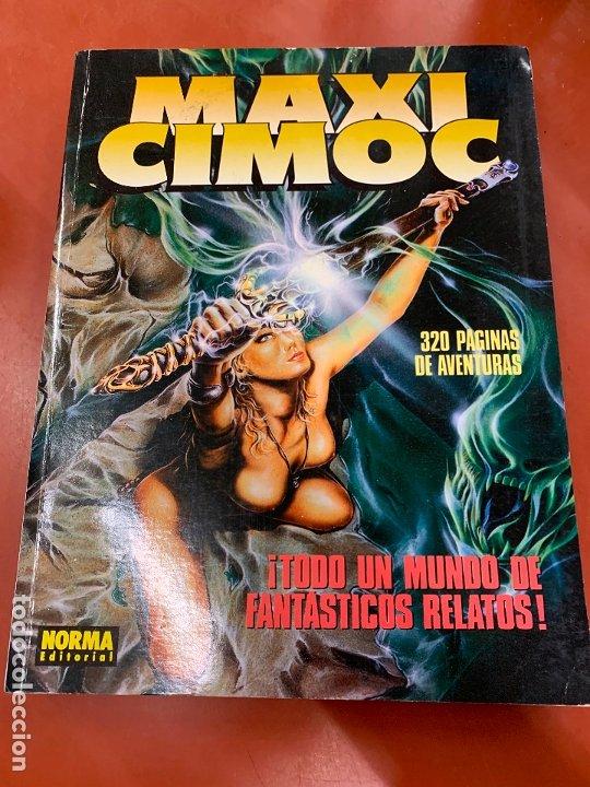 COMIC MAXI CIMOC, NUMERO 4, NORMA EDITORIAL, EN MUY BUEN ESTADO. (Tebeos y Comics - Norma - Cimoc)