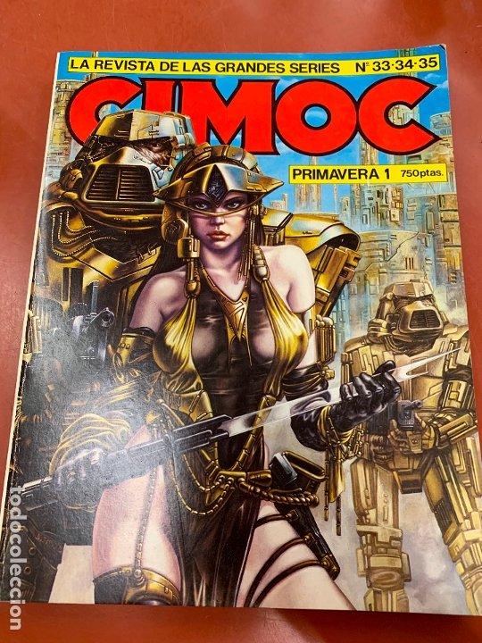 COMIC CIMOC, PRIMAVERA 1, NUMEROS 33,34,35. NORMA COMICS, EN MUY BUEN ESTADO. (Tebeos y Comics - Norma - Cimoc)