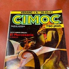 Cómics: COMIC CIMOC, VERANO 1, NUMEROS 39, 40, 41. NORMA COMICS, EN MUY BUEN ESTADO.. Lote 179538996