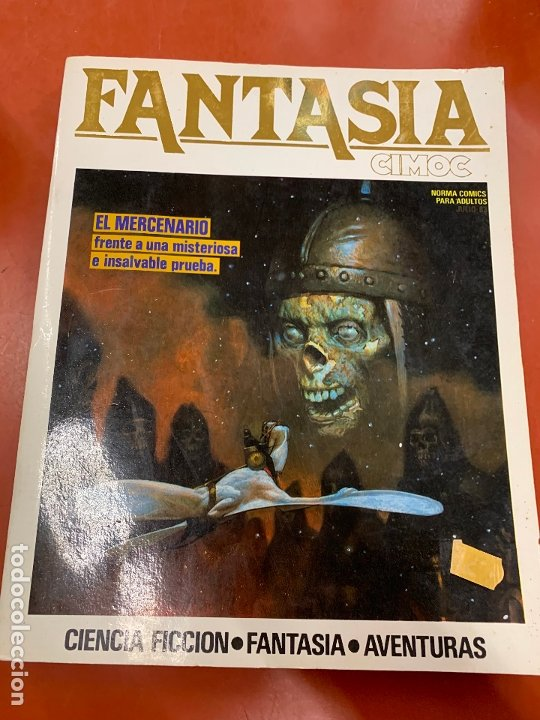 COMIC FANTASIA CIMOC, NUMEROS27, 28, 29. NORMA COMICS, EN MIUY BUEN ESTADO (Tebeos y Comics - Norma - Cimoc)