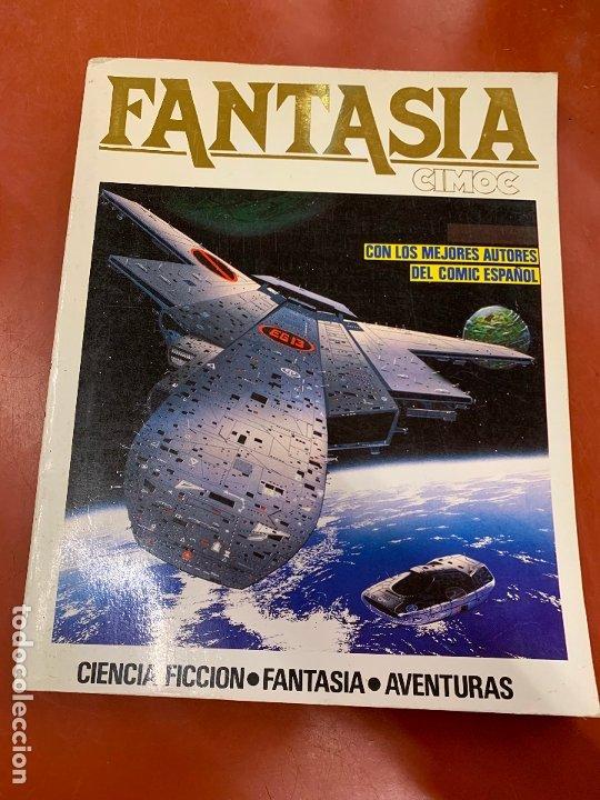 COMIC FANTASIA CIMOC, NUMEROS 22, 23, 26. NORMA COMICS, EN MIUY BUEN ESTADO (Tebeos y Comics - Norma - Cimoc)