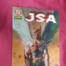 Cómics: JSA. EL RETORNO DE HAWKMAN. NORMA EDITORIAL. Lote 179552547