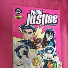 Cómics: YOUNG JUSTICE. LOS CHICOS CON LAS CHICAS. NORMA EDITORIAL. Lote 179555981