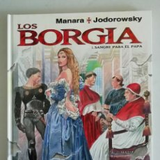Cómics: LOS BORGIA 1 SANGRE PARA EL PAPA. Lote 179612047