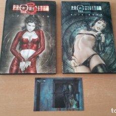 Cómics: 2 COMICS PROHIBITED BOOK 2 Y 3 LUIS ROYO NORMA 1A EDICIÓN. Lote 180010516