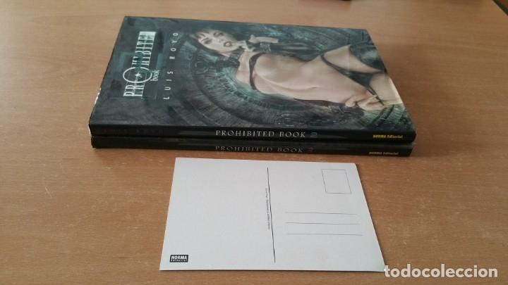 Cómics: 2 comics PROHIBITED BOOK 2 y 3 LUIS ROYO Norma 1a edición - Foto 2 - 180010516