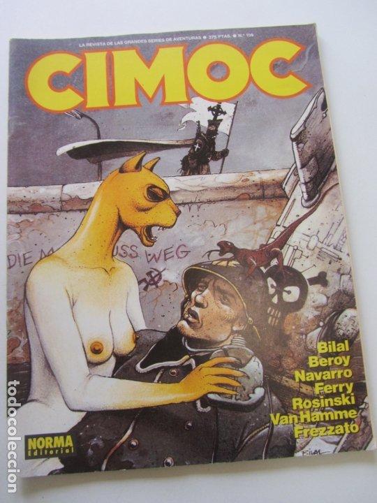 CIMOC. Nº 109 NORMA CS200 (Tebeos y Comics - Norma - Cimoc)