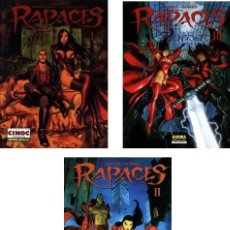 Cómics: RAPACES TOMOS Nº 01 +02 +03 (DUFAUX Y MARINI).NUEVOS. Lote 180196530
