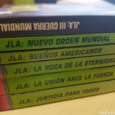 Cómics: JLA DE GRANT MORRISON 6 TOMOS NORMA PLANETA / JUSTICE LEAGUE LIGA JUSTICIA. Lote 180235965