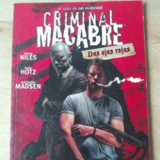 Cómics: CRIMINAL MACABRE DOS OJOS ROJOS. MADE IN HELL 76. NORMA EDITORIAL. Lote 180244106