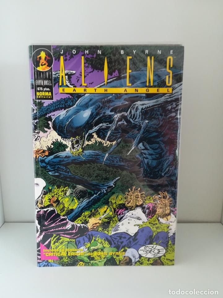 ALIENS EARTH ANGEL - JOHN BYRNE NORMA EDITORIAL (Tebeos y Comics - Norma - Comic USA)