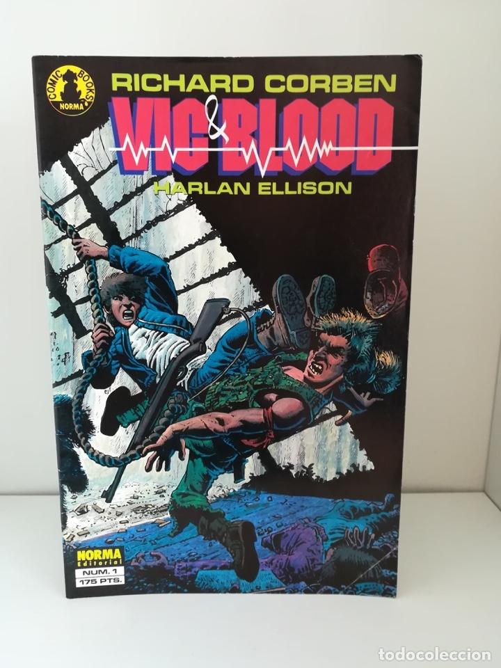 VIC & BLOOD COMPLETA - Nº 1 RICHARD CORBEN (Tebeos y Comics - Norma - Comic USA)