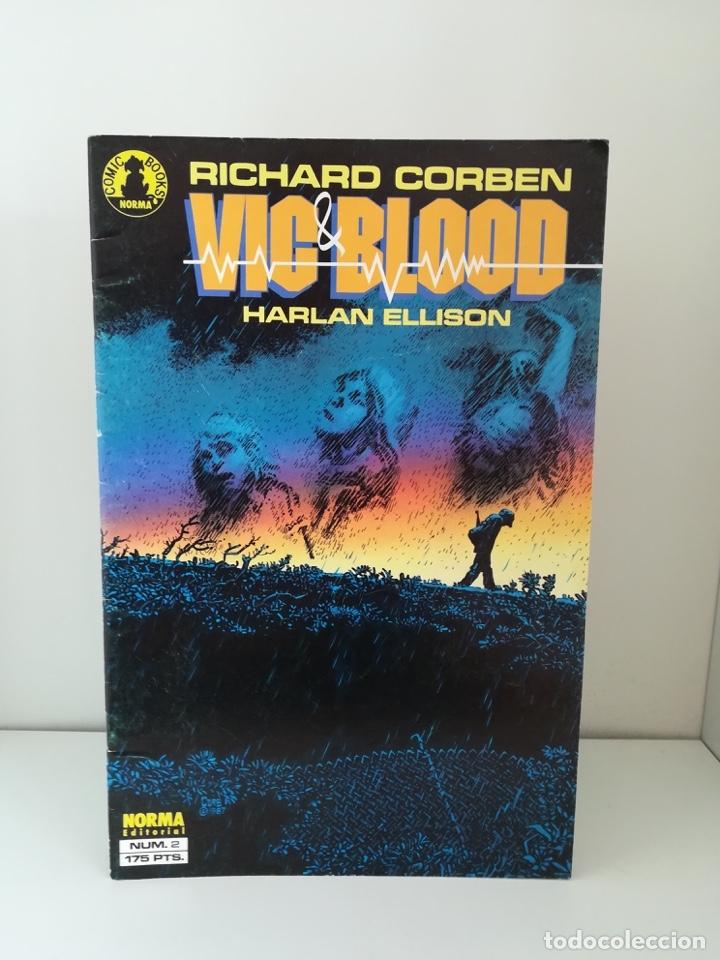 VIC & BLOOD COMPLETA - Nº 2 RICHARD CORBEN (Tebeos y Comics - Norma - Comic USA)