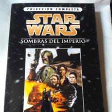 Cómics: STAR WARS SOMBRAS DEL IMPERIO COLECCIÓN COMPLETA CARPETA + 3 COMICS. Lote 180255450