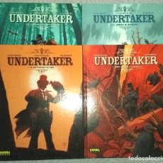 Cómics: UNDERTAKER (4 TOMOS COMPLETA). Lote 180280341