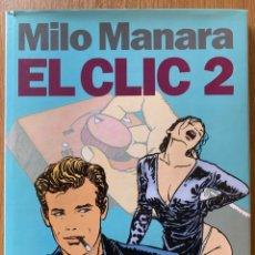 Cómics: MILO MANARA, EL CLIC 2 - NORMA EDITORIAL - 1992 - EDICIÓN DE LUJO. Lote 180293373