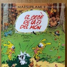 Cómics: MARSUPILAMI 2. EL BEBÈ DE LA FI DEL MÓN - FRANQUIN / GREG / BATEM - NORMA, 2001 - CATALÁN. Lote 180295371