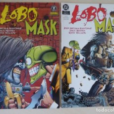 Cómics: LOBO MASK, COMPLETA 1 Y 2 - NORMA EDITORIAL - DC. Lote 180439480