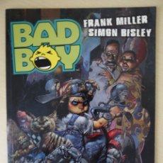 Cómics: BAD BOY - FRANK MILLER Y SIMON BISLEY - NORMA EDITORIAL. Lote 180440306