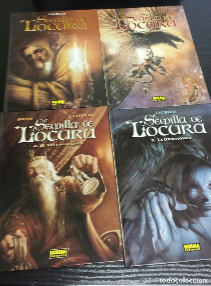 SEMILLA DE LOCURA COMPLETA 4 NUMEROS CIVIELLO (Tebeos y Comics - Norma - Comic Europeo)