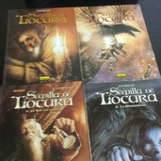 Cómics: SEMILLA DE LOCURA COMPLETA 4 NUMEROS CIVIELLO. Lote 180829026