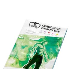 Comics: BOLSAS PARA COMICS CURRENT ULTIMATE GUARD. TAMAÑO COMIC GRAPA 17,5 X 26,8 CM PAQUETE DE 100 BOLSAS. Lote 181202703