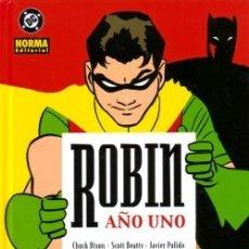 Comics: ROBIN AÑO UNO - JAVIER PULIDO & MARCOS MARTÍN - NORMA, 2003. Lote 192132097