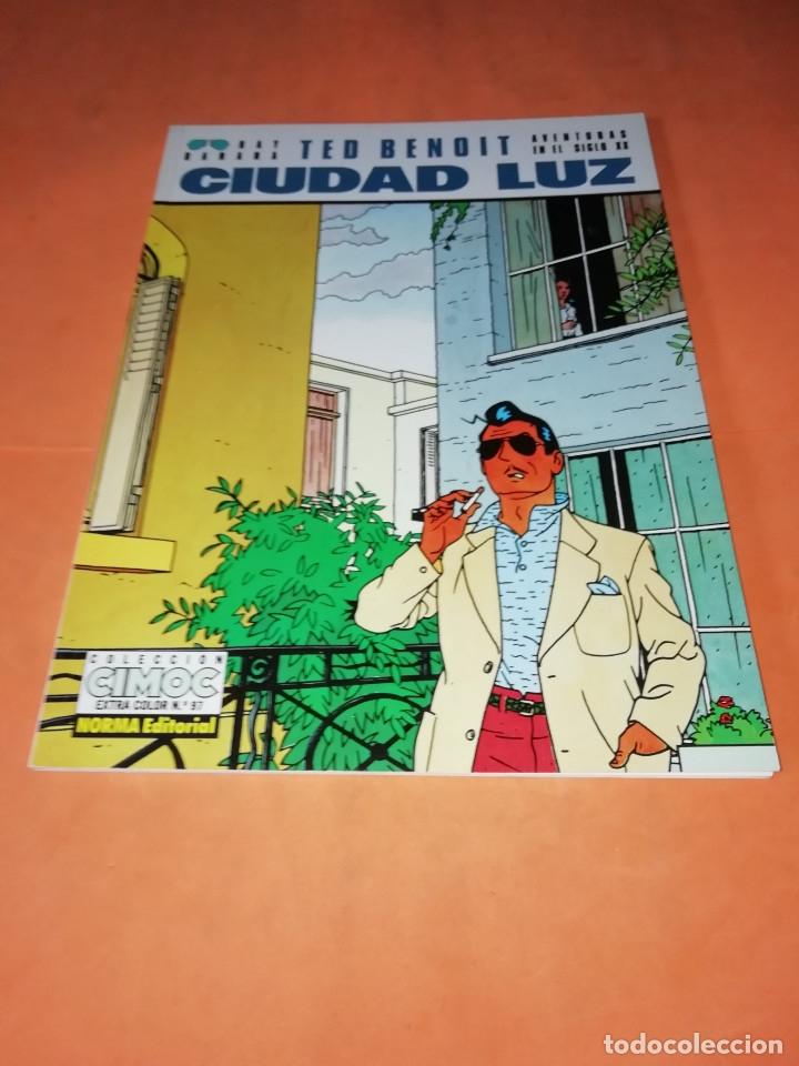 TED BENOIT. CIUDAD LUZ. CIMOC EXTRA COLOR Nº 97 . BUEN ESTADO. (Tebeos y Comics - Norma - Cimoc)
