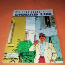 Cómics: TED BENOIT. CIUDAD LUZ. CIMOC EXTRA COLOR Nº 97 . BUEN ESTADO.. Lote 181457943