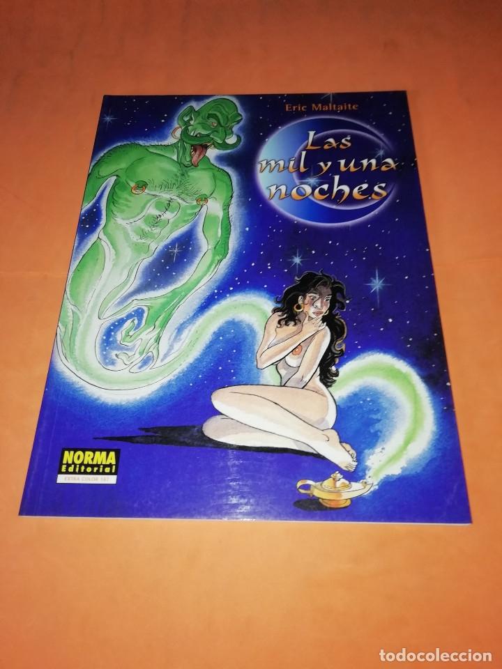 LAS MIL Y UNA NOCHES. ERIC MALTAINE. NORMA EDITORIAL EXTRA COLOR 187. BUEN ESTADO (Tebeos y Comics - Norma - Comic Europeo)