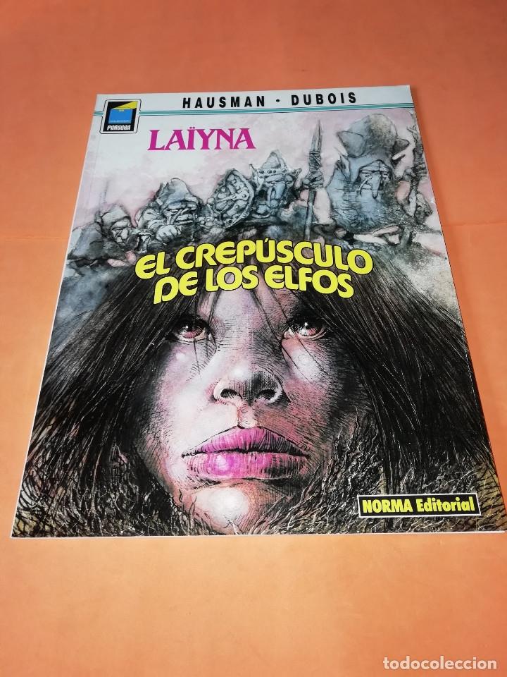 LAIYNA. EL CREPUSCULO DE LOS ELFOS. COLECCION PANDORA Nº 31. NORMA. BUEN ESTADO. (Tebeos y Comics - Norma - Comic Europeo)