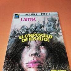 Cómics: LAIYNA. EL CREPUSCULO DE LOS ELFOS. COLECCION PANDORA Nº 31. NORMA. BUEN ESTADO.. Lote 181555592