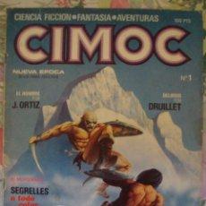 Cómics: CIMOC Nº 1 CIENCIA FICCION FANTASIA AVENTURAS AÑO 1980. Lote 181560605