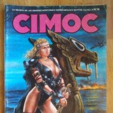 Cómics: CIMOC Nº74 NORMA. Lote 181580253
