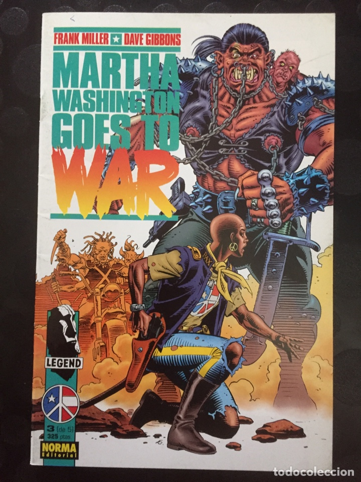 MARTHA WASHINGTON GOES TO WAR . FRANK MILLER DAVE GIBBONS . N.3 . ( 1995 ) . (Tebeos y Comics - Norma - Comic USA)