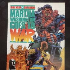 Cómics: MARTHA WASHINGTON GOES TO WAR . FRANK MILLER DAVE GIBBONS . N.3 . ( 1995 ) .. Lote 181694135