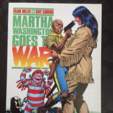 Cómics: MARTHA WASHINGTON GOES TO WAR . FRANK MILLER DAVE GIBBONS . N.4 . ( 1995 ) .. Lote 181694566
