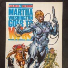 Cómics: MARTHA WASHINGTON GOES TO WAR . FRANK MILLER DAVE GIBBONS . N.6 . ( 1995 ) .. Lote 181694932