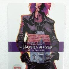 Fumetti: THE UMBRELLA ACADEMY 3. HOTEL OBLIVION - GERARD WAY, GABRIEL BÁ - NORMA EDITORIAL. Lote 181711272
