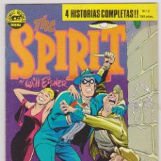 Cómics: THE SPIRIT - BY WILL EISNER - 4 HISTORIAS COMPLETAS - NÚMERO 2 - PERFECTO ESTADO. Lote 181799933