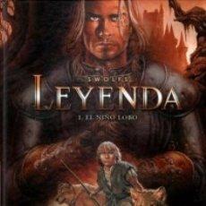 Cómics: LEYENDA Nº 1 EL NIÑO LOBO (SWOLFS) NORMA - BUEN ESTADO - OFI15T. Lote 181857463