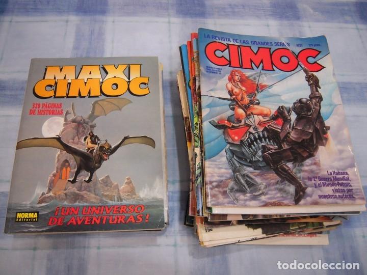 LOTE DE 36 CIMOC FOTOS DE TODOS (Tebeos y Comics - Norma - Cimoc)